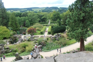 From above 'The Rockery'